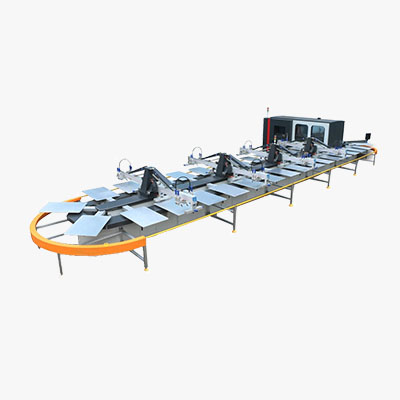 Oval Screen Printing&Digital Printing Combination Machine